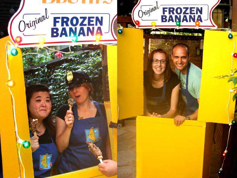 Arrested Development Banana Stand Photobooth