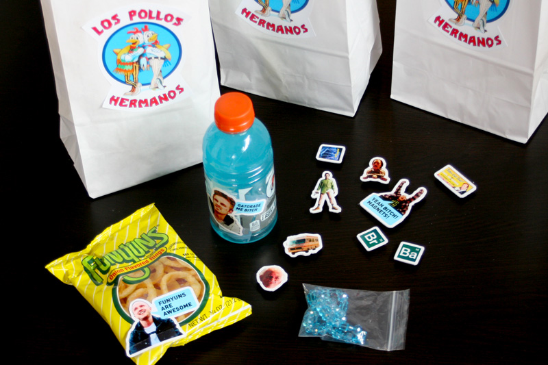 Breaking Bad Party Favors