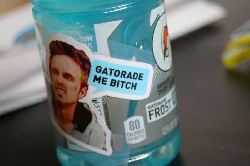 Breaking Bad Gatorade Me Bitch