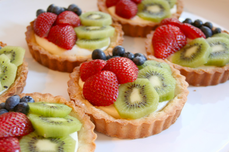 Pastry Cream Filling For Fruit Tart Lemon Cream Cheese Fruit Tarts