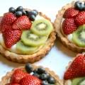 Lemon Cream Cheese Fruit Tarts