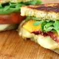 Peach and Brie Panini