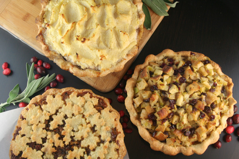 All Pie Thanksgiving: An Entire Thanksgiving Dinner in 3 Pies