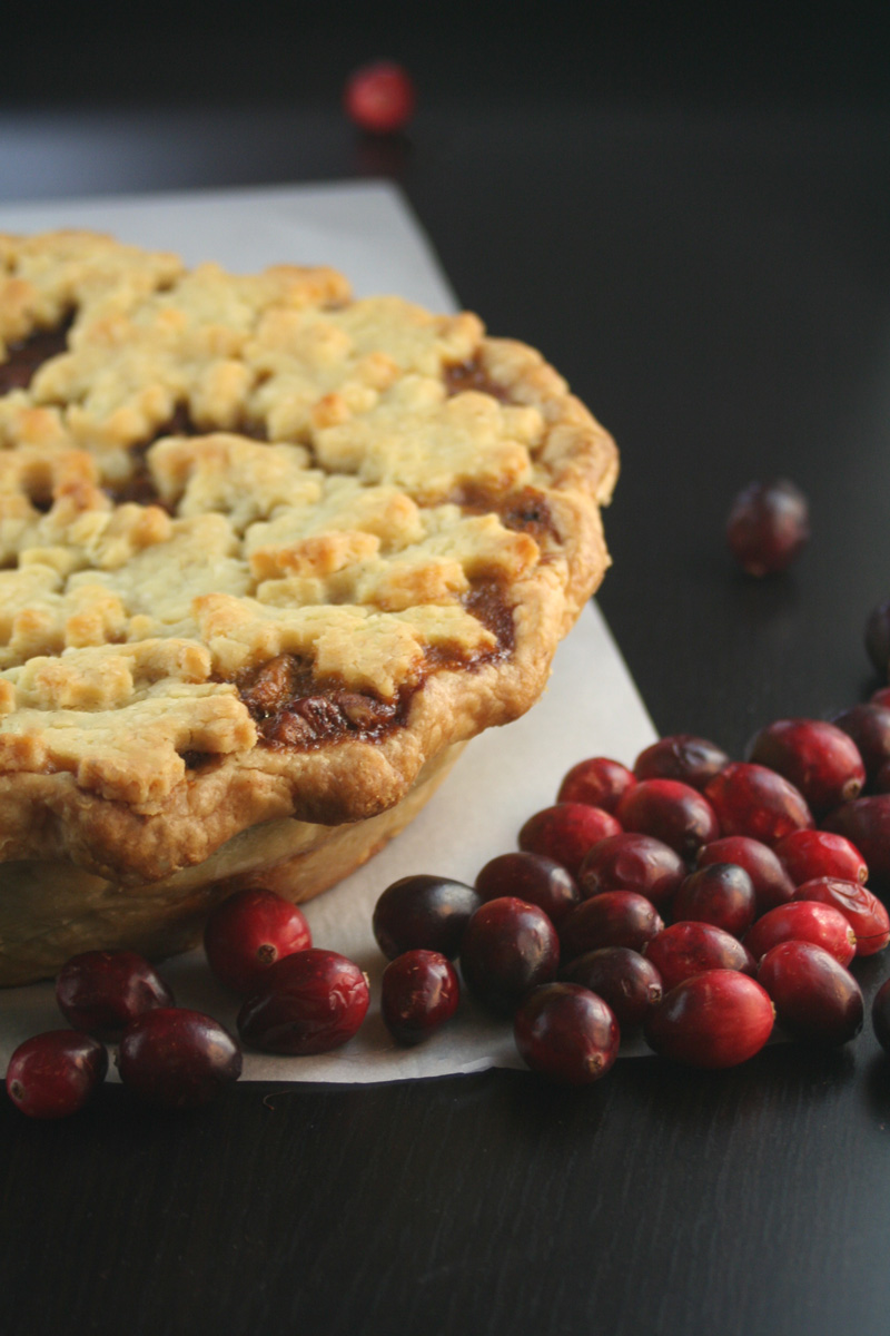 All Pie Thanksgiving: Pumpkin Pecan Chocolate Pie
