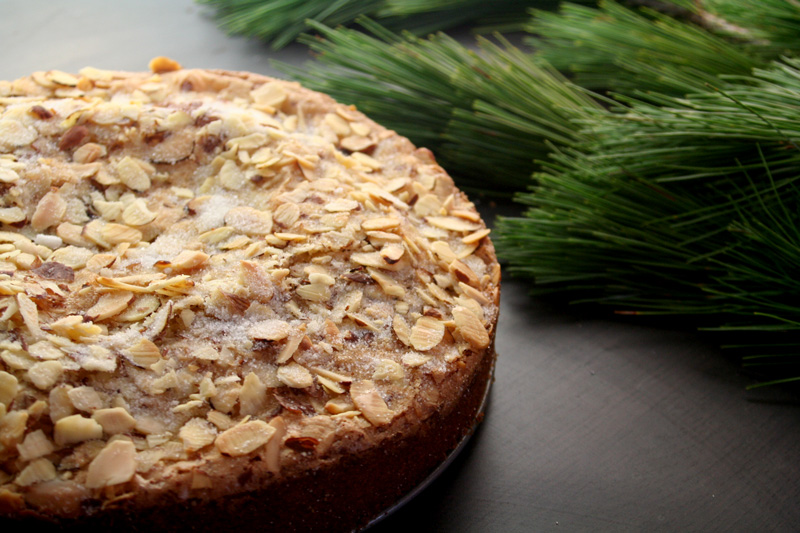 Quick and Easy Almond Cake