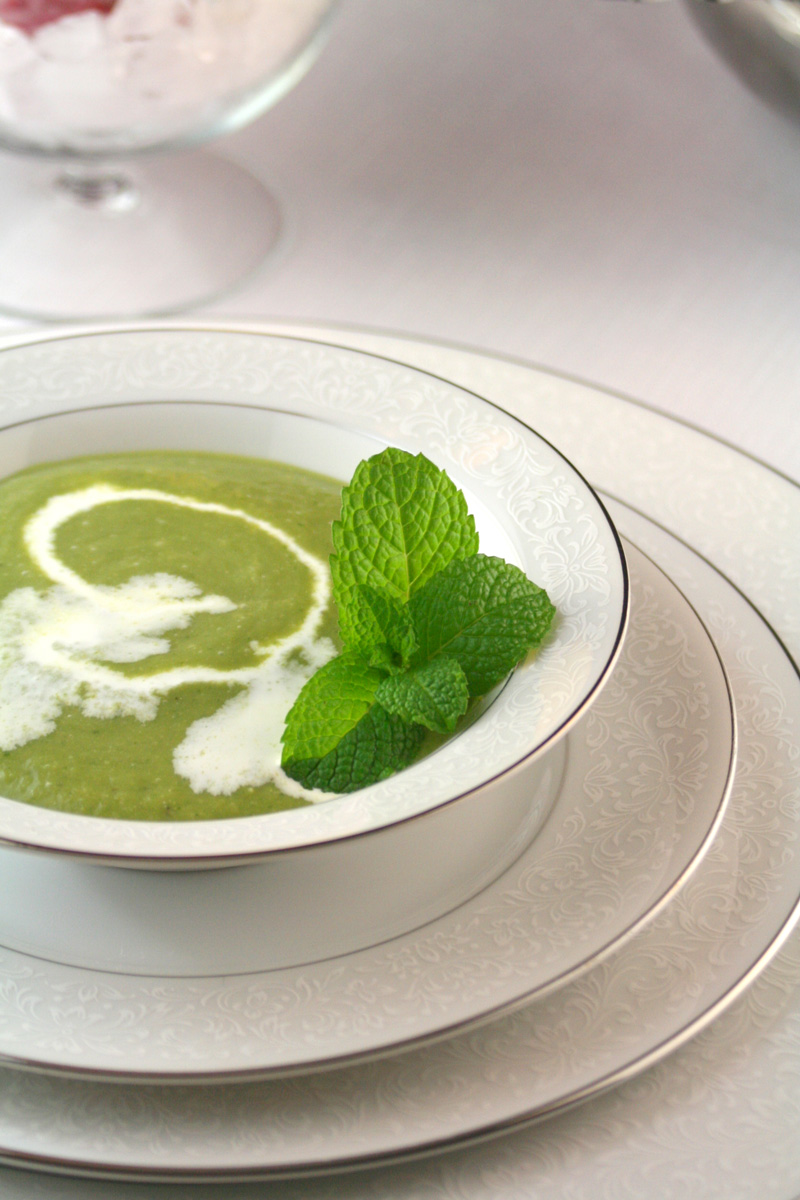 Mint Pea Soup