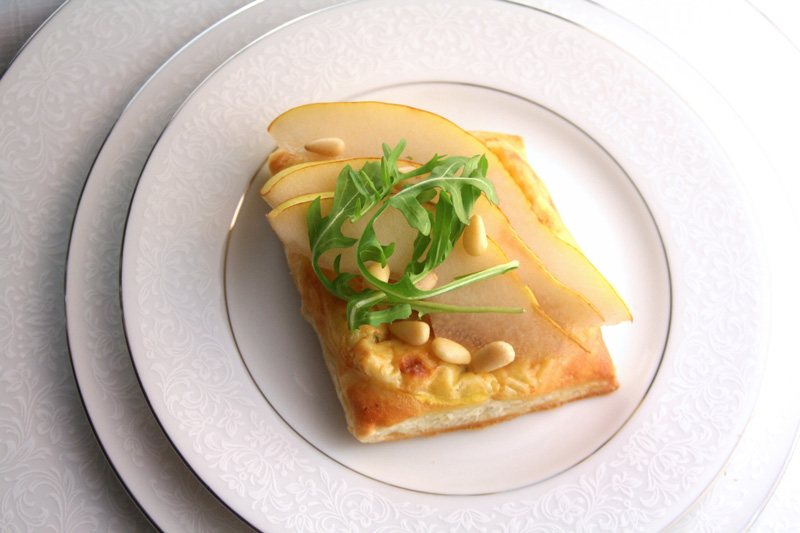 Stilton Pear Tarts