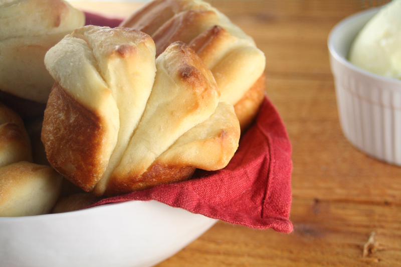 Buttery Fan-shaped Rolls