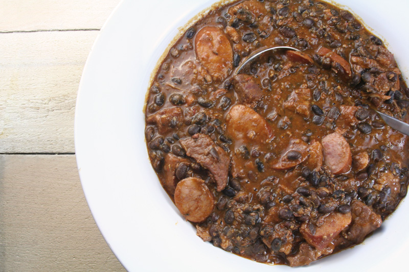 Feijoada - Meaty Brazilian Black Bean Stew