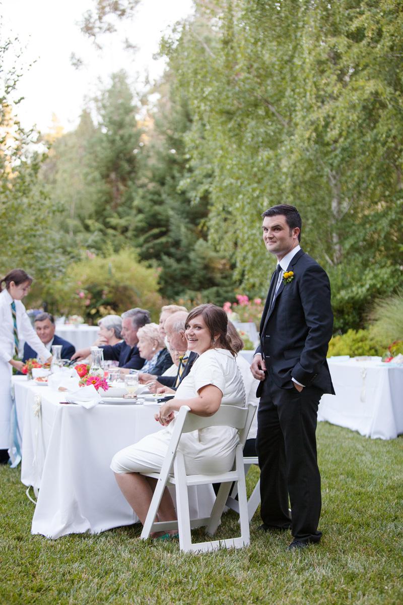 Mark & Emily's Backyard Summer Wedding Menu