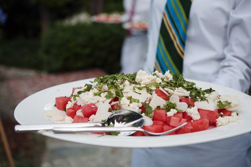 Watermelon Salad with Jicama, Feta, and Mint