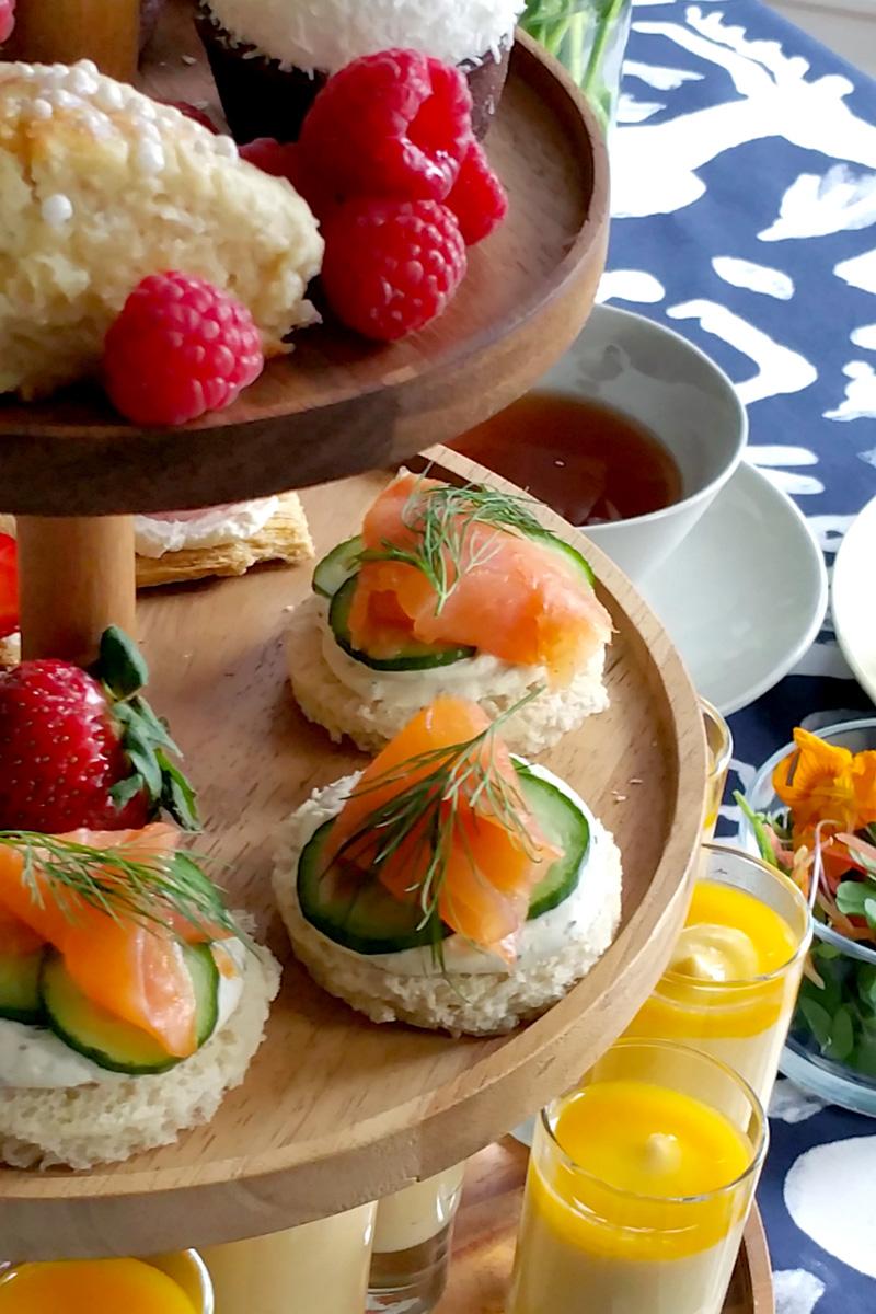Spring Tea Party Menu